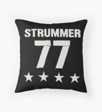 STRUMMER - 77 Throw Pillow
