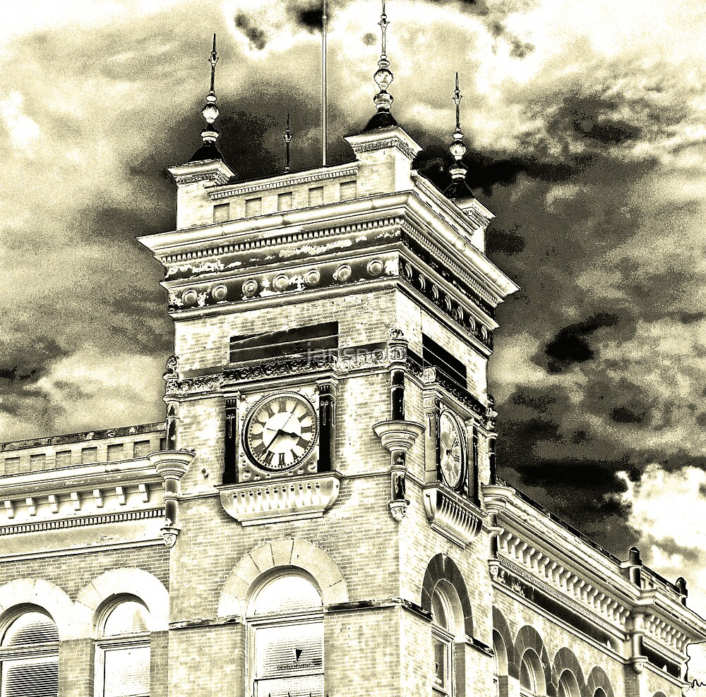Clock Tower by jansnow