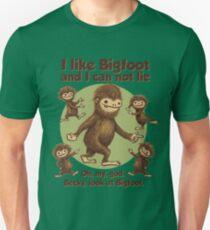 I like Bigfoot Slim Fit T-Shirt