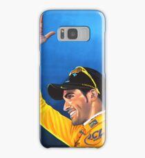 Alberto Contador painting Samsung Galaxy Case/Skin