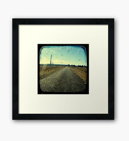 Superstition Highway Framed Print