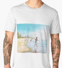 Gold Coast Lifestyle  Men's Premium T-Shirt