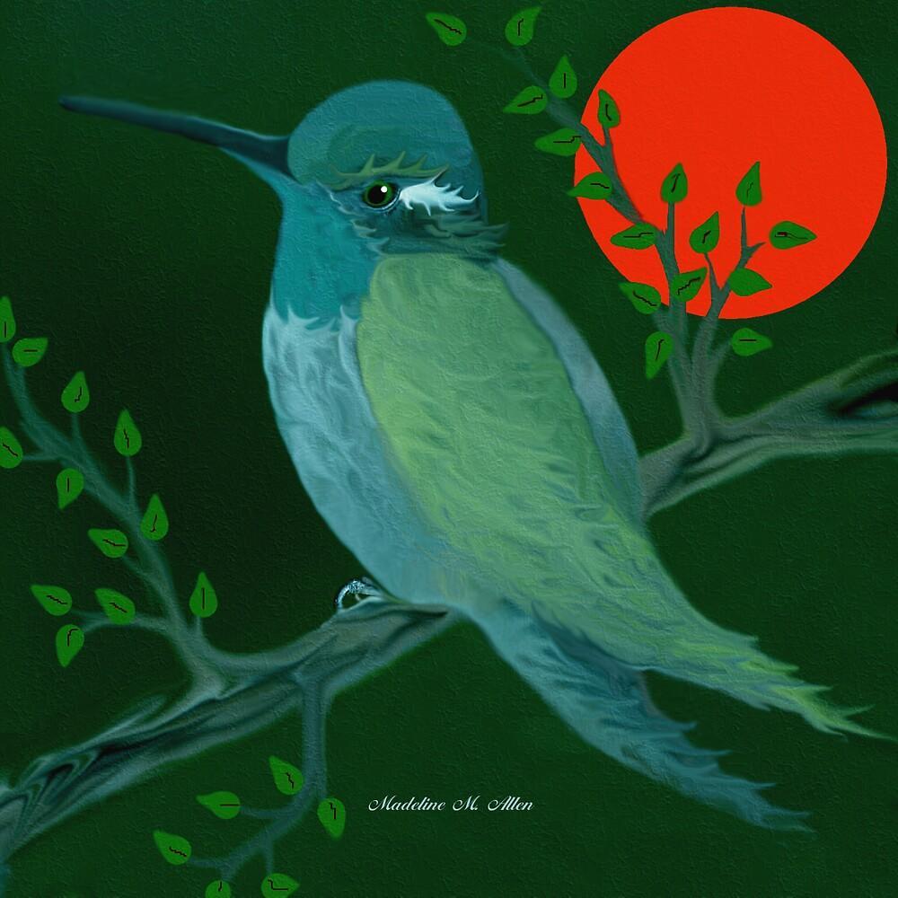 HUMMINGBIRD by Madeline M  Allen
