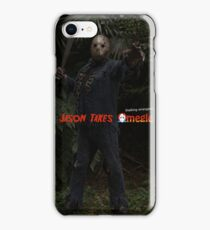 Jason Takes Omegle-Woods-Machete-1 iPhone Case/Skin