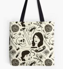 MFM- Murderino Pattern Tote Bag