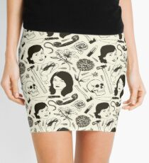 MFM- Murderino Pattern Mini Skirt