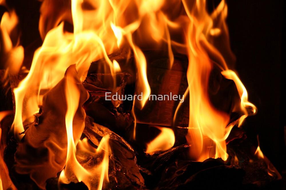 fire by Edward  manley