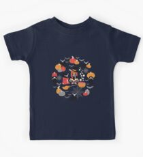 Enchanted Vintage Halloween Spell Kids Clothes