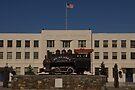 The Alaska Railroad Station Building by Allen Lucas