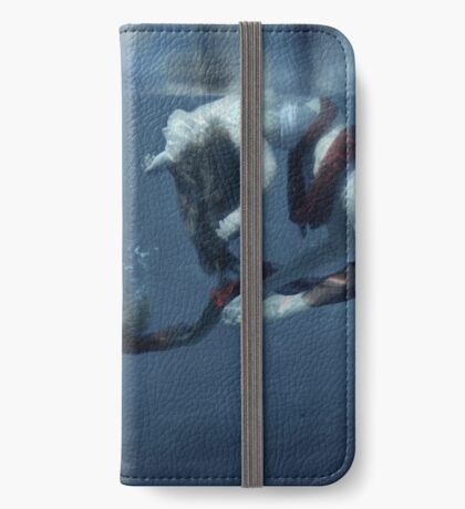 A Drop Of Blood iPhone Wallet