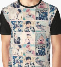 BTS Wings Photocards Graphic T-Shirt