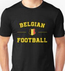 Belgium Football Shirt - Belgium Soccer Jersey Unisex T-Shirt