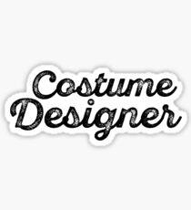 Costume Designer Sticker
