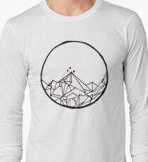 A Court of Thorns and Roses: The Night Court Drawing (Single Design) Long Sleeve T-Shirt