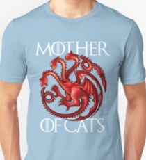 Mother Of Cats Funny Game Of Thrones T-Shirt