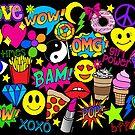 Spaß-Zeit-Pop-Art von Corey Paige Designs