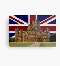 Downton Abbey Metal Print