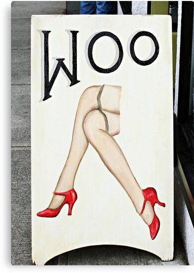 Woo  by Ethna Gillespie