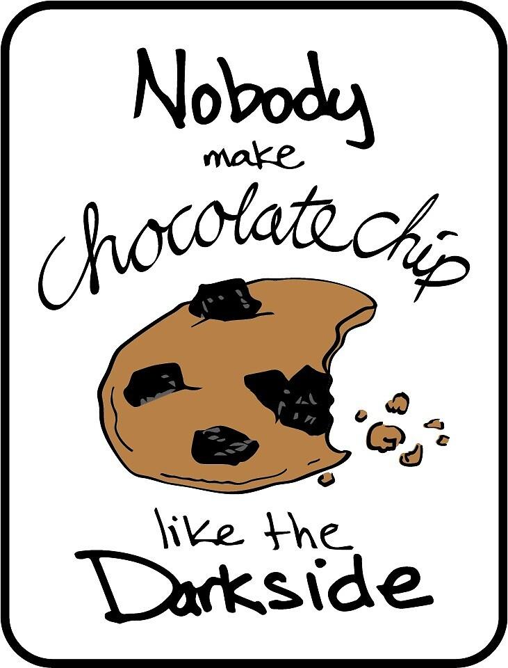 Darkside Cookies by Accidental Avocado