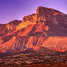 Guadalupe Peak Sunset- Guadalupe Mountains National Park by StonePics