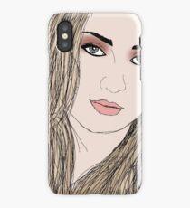 Sophie Turner by A.R. Regan iPhone Case/Skin
