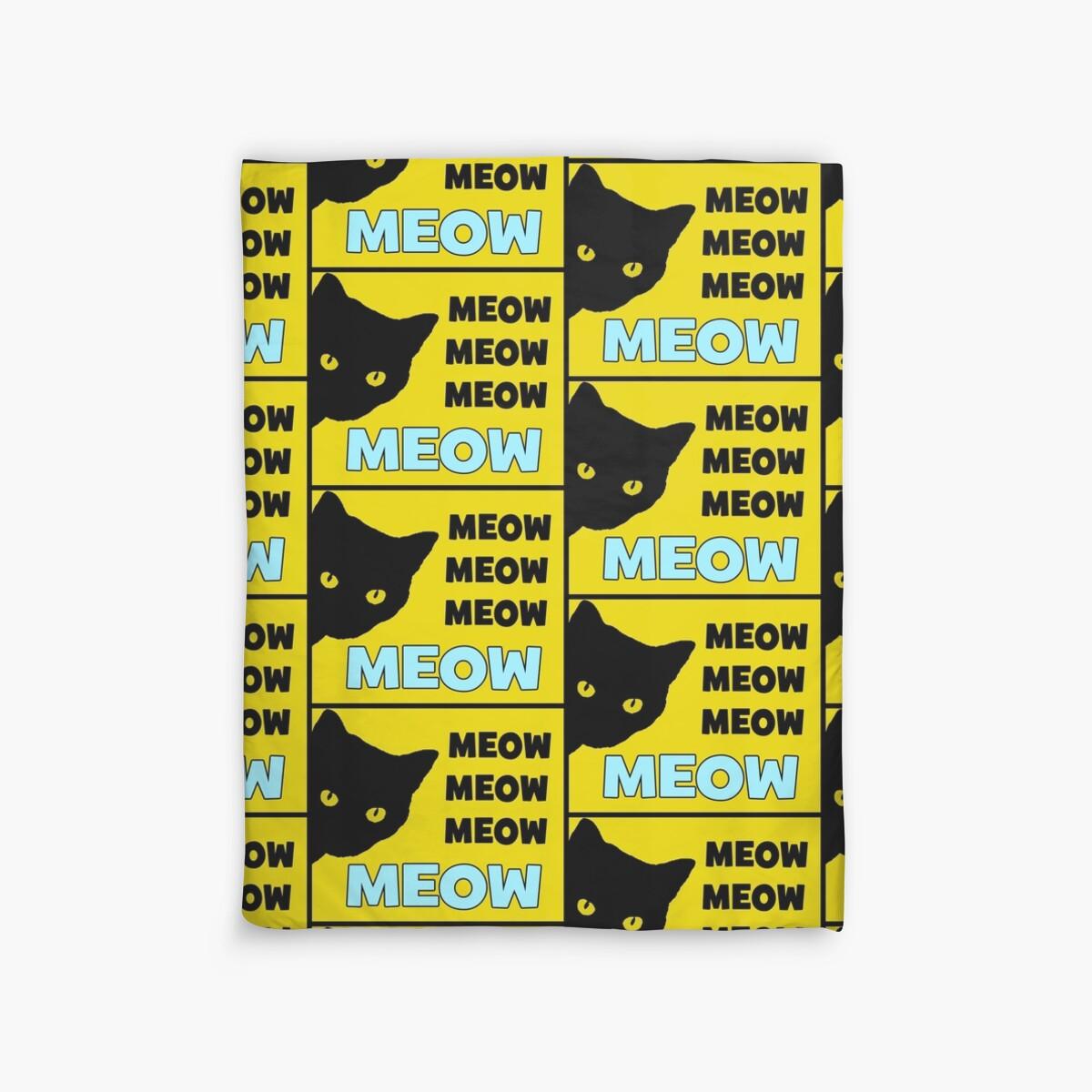 Quot Roblox Cat Sir Meows A Lot Quot Duvet Covers By Jenr8d