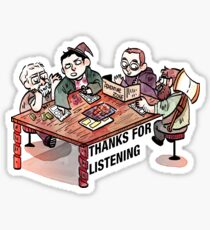 Thanks for Listening! Sticker