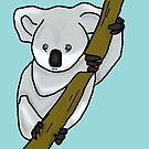 Cute Koala by DAMMIT-ANDERSON