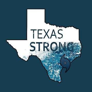 Texas Strong Harvey Texas Graphic by Zestiny