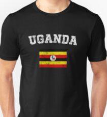 Ugandan Flag Shirt - Vintage Uganda T-Shirt T-Shirt