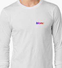 Frank Ocean- Blond Nascar Stripe Long Sleeve T-Shirt