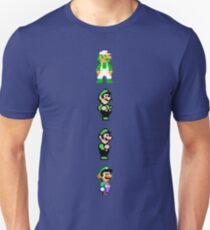 All 8 Bit Luigi Unisex T-Shirt