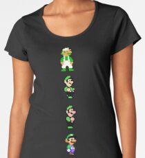 All 8 Bit Luigi Women's Premium T-Shirt