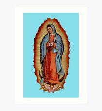 Jungfrau / Jungfrau Mary Maria De Guadalupe Kunstdruck