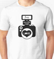 Focus on Love Camera T-Shirt
