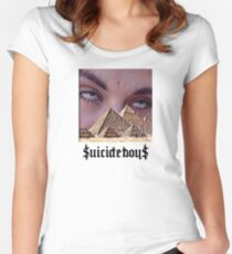 Suicide Boys 4 Women's Fitted Scoop T-Shirt