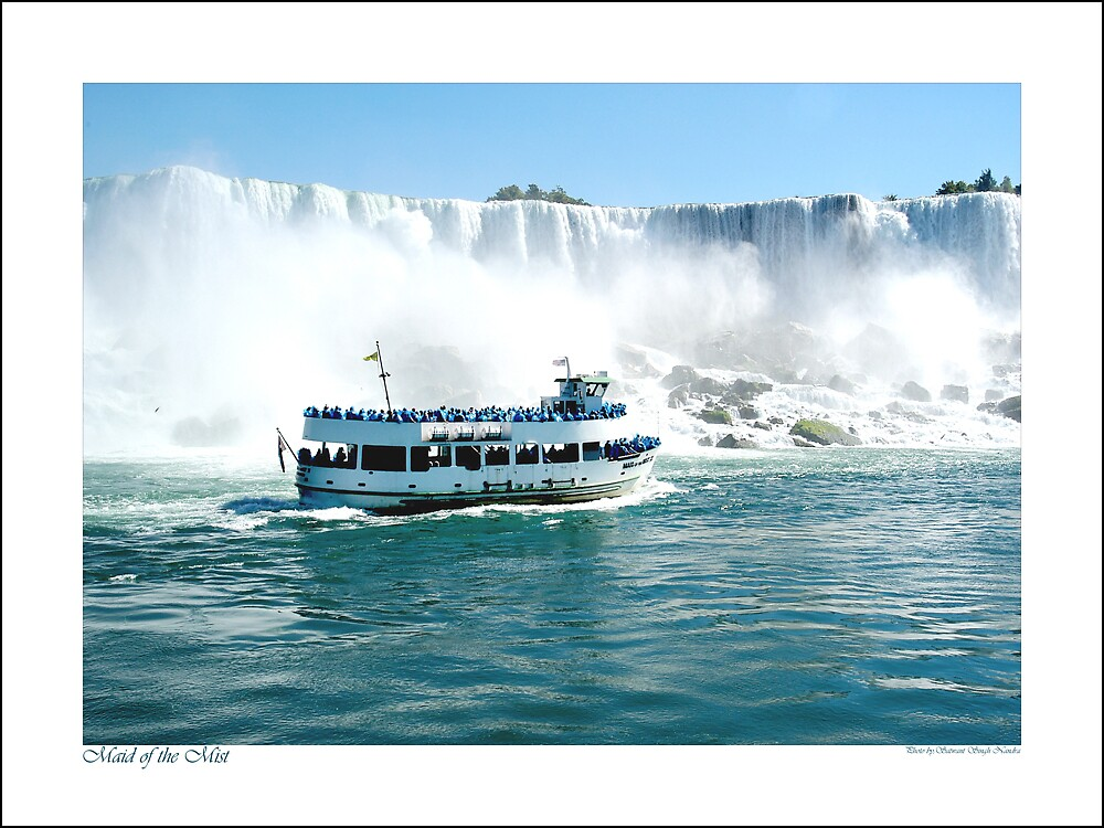 Maid of the mist by satwant