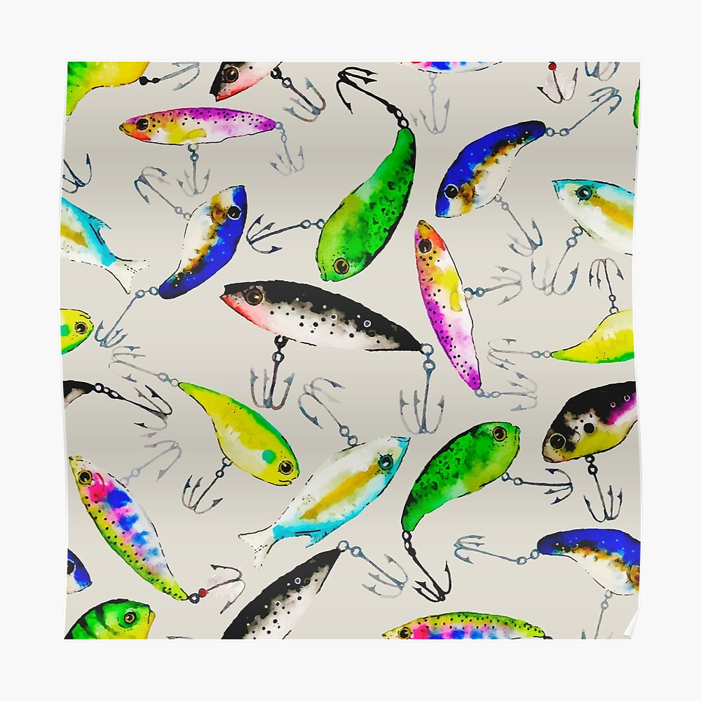 Fishing is Fly Poster