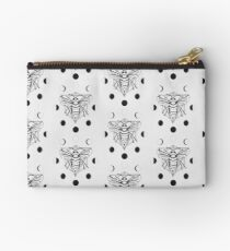 Moon Bee - Black & White Studio Pouch