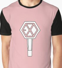 EXO LIGHTSTICK PINK Graphic T-Shirt