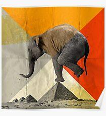 Balance of the Pyramids Poster