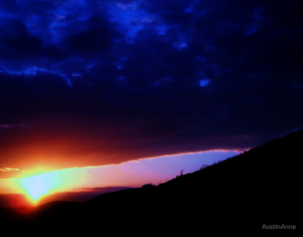 Blue and Red... by AustinAnne