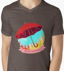 Lup: We're Legends! Men's V-Neck T-Shirt