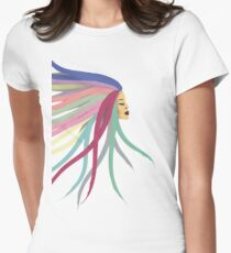 Hair Everywhere Women's Fitted T-Shirt