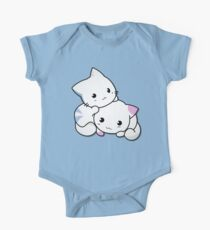 Paws-itivly Adorable Cats  One Piece - Short Sleeve