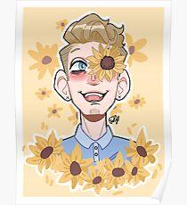 scott hoying - sunflowers Poster