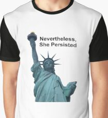 Nevertheless, She Persisted - Liberty Graphic T-Shirt