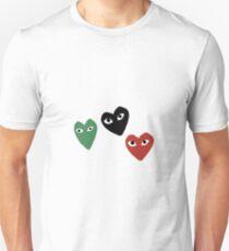 CDG Emoji Logo Set Unisex T-Shirt