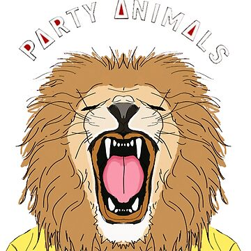 Party Animals - Lion by doksax