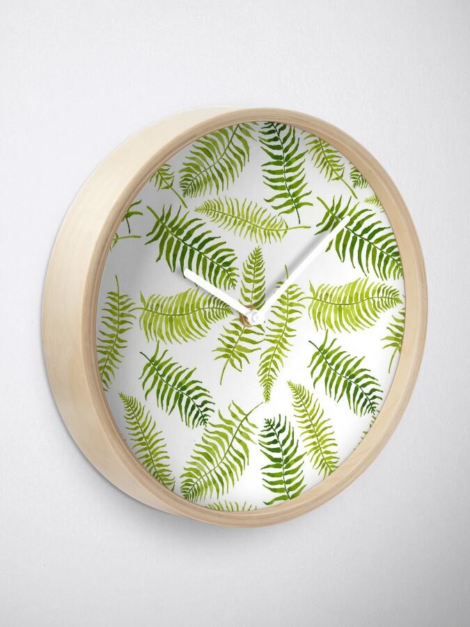 Alternate view of Fern Limelight Clock